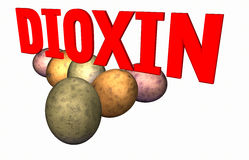 Dioxin Royalty Free Stock Images