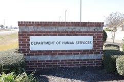 Dipartimento dei servizi umani fotografia stock libera da diritti