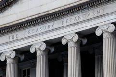 Dipartimento del Tesoro degli Stati Uniti Fotografia Stock Libera da Diritti