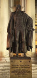 Dipartimento del Tesoro degli Stati Uniti della statua della gallatina del Albert Fotografia Stock Libera da Diritti