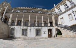 Dipartimento di legge, università di Coimbra Fotografia Stock