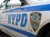 Dipartimento di Polizia di New York Immagine Stock