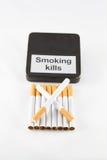 Dipendenza della sigaretta Fotografia Stock Libera da Diritti