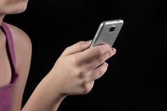 Dipendenza mobile Immagine Stock