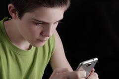 Dipendenza mobile Immagine Stock Libera da Diritti