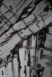 Diphenilnamine在显微镜下 免版税库存图片