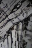Diphenilnamine sous le microscope Image libre de droits