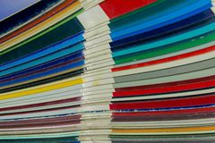 Dipinga il catalogo immagini stock