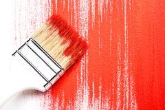 Dipinga il lavoro Immagini Stock
