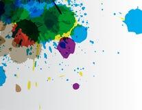 Dipinga la carta da parati Fotografia Stock
