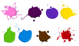 Dipinga la spruzzata Immagini Stock