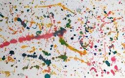 Dipinga la spruzzata Immagini Stock Libere da Diritti