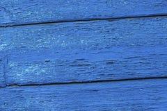 Dipinga pelare i bordi di legno anziani Fotografia Stock Libera da Diritti