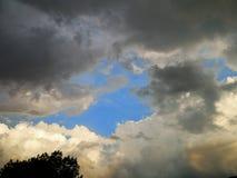 Dipingendo come l'immagine del cielo fotografia stock libera da diritti