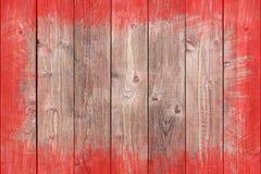 Dipinto approssimativamente rasenti il fondo di legno con lo spazio della copia Fotografia Stock