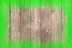 Dipinto approssimativamente rasenti il fondo di legno con lo spazio della copia Immagine Stock Libera da Diritti