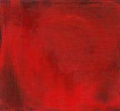 Fondo dipinto rosso Fotografie Stock