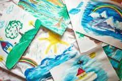 Dipinto opera d'arte le immagini creative fotografie stock