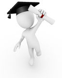 Diplômé illustration stock