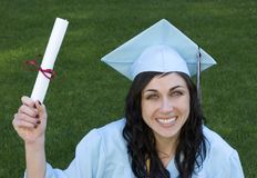 Diplômé images libres de droits