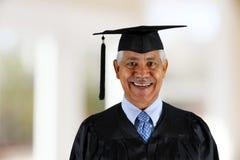 Diplômé d'aîné Photo libre de droits