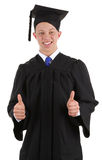 Diplômé heureux Image stock