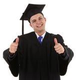 Diplômé très heureux Photo stock