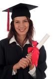 Diplômée de femelle Photos libres de droits