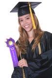 Diplômée de femme Image libre de droits