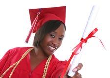 Diplômée de femme photo libre de droits