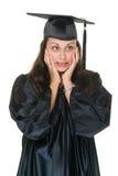 Diplômée de jeune femme Image stock