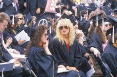 Diplômés américains Images libres de droits