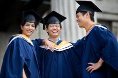Diplômés dans le vestibule Image libre de droits