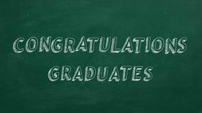 Diplômés de félicitations illustration libre de droits