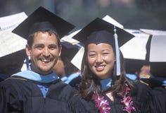 Diplômés de la classe de l'UCLA de 2002 Photo stock