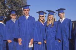 Diplômés de lycée Images stock