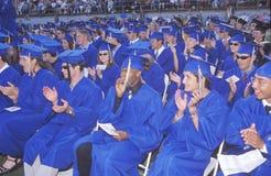 Diplômés de lycée Image libre de droits