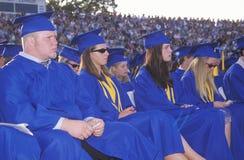 Diplômés de lycée Photo libre de droits
