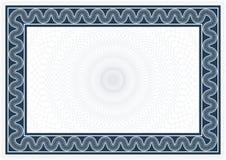 Diplôme et certificat Photo stock