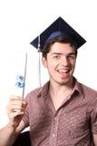 Diplômé de lycée Image libre de droits