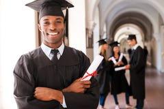Diplômé sûr Image stock