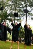 Diplômés d'université Image stock