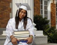 Diplômé studieux Photos libres de droits