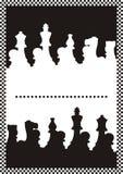 Diplôme d'échecs Images libres de droits