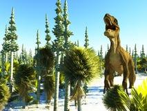 Diplodoc the dinosaur Royalty Free Stock Photography