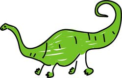 Diplodocus Royalty Free Stock Image