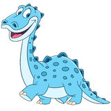 Diplodocus bonito dos desenhos animados Foto de Stock Royalty Free