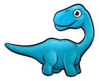 Diplodocus Dinosaur Cartoon Character Stock Photography