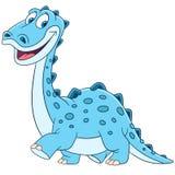 Diplodocus lindo de la historieta Foto de archivo libre de regalías