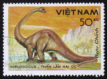 Diplodocus, vers 1984 Photographie stock